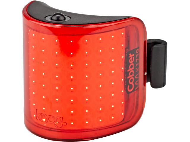 Knog Cobber Lil Rear Light, rojo/negro